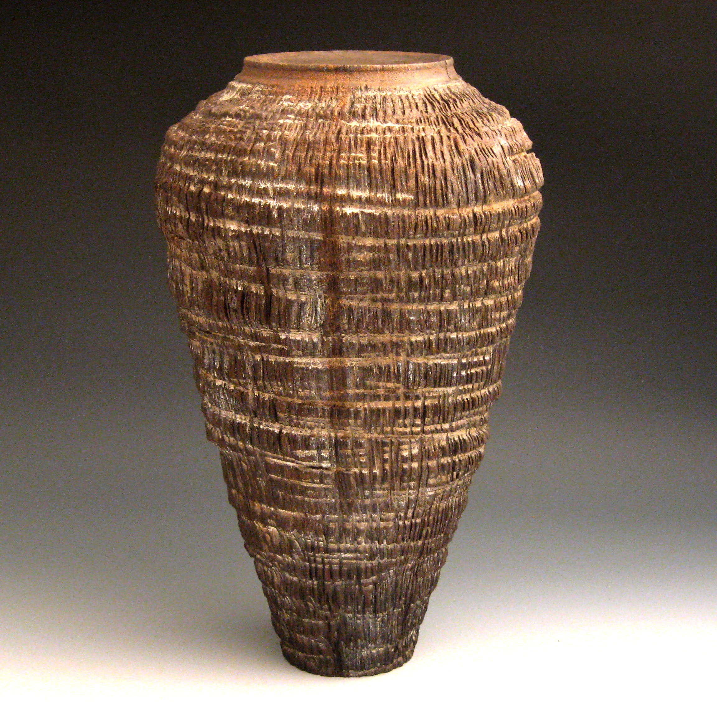 Textured Vases Gary Jackson Fire When Ready Pottery